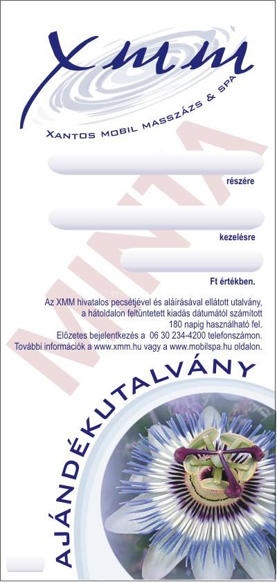 XMM Masszázs ajándékutalvány - Dr Ganga Kvantum Natúr Kozmetikum